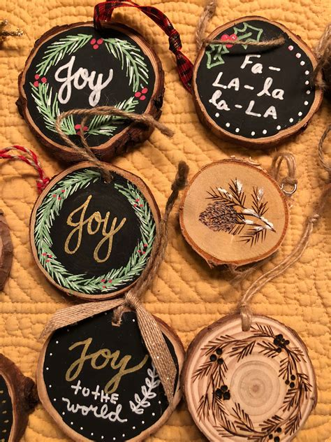 Diy-Paint-Christmas-Wood-Ornaments