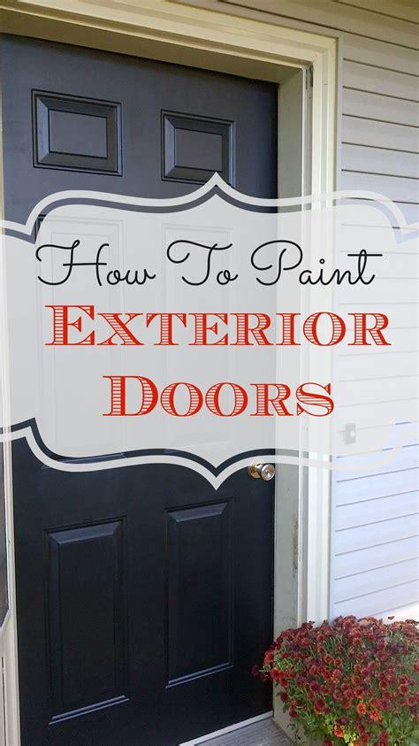Diy-Paint-Entry-Door