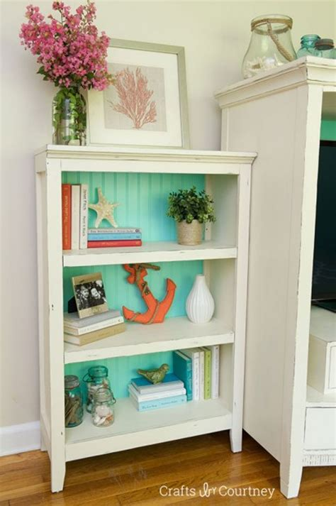 Diy-Painted-Bookcase