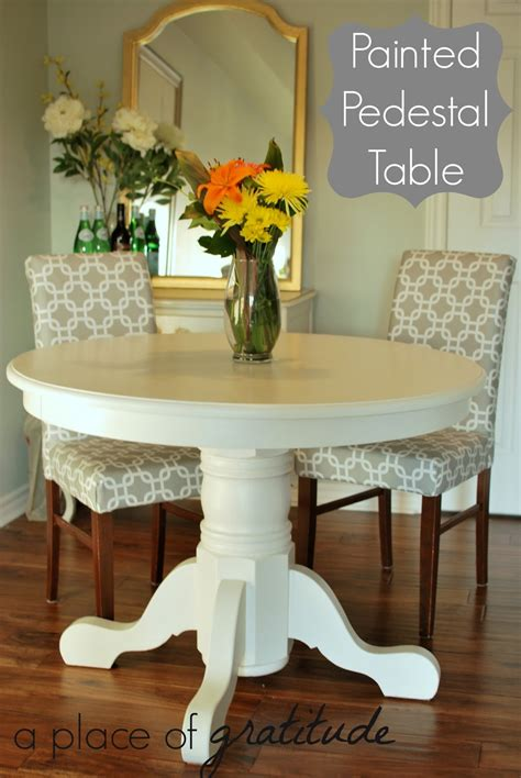Diy-Painted-Pedestal-Table