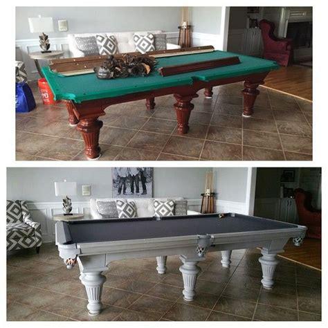 Diy-Painted-Pool-Table