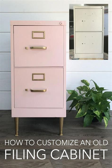 Diy-Painting-Metal-File-Cabinet