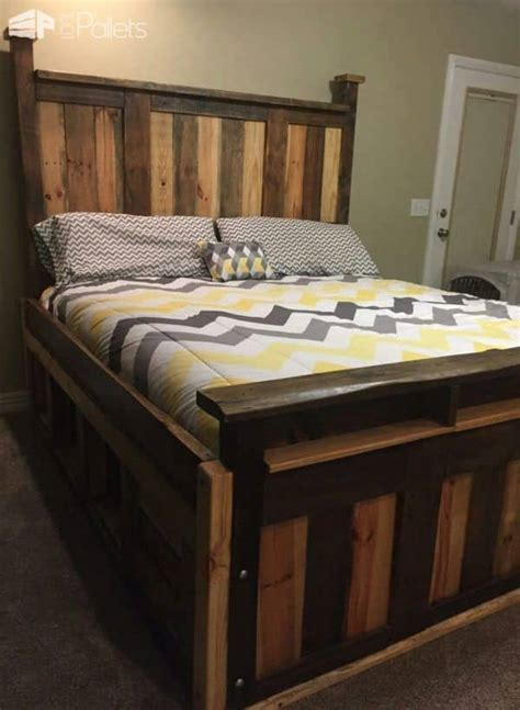 Diy-Pallet-King-Bed-Frame-Instructions