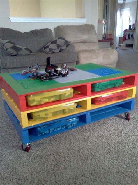 Diy-Pallet-Lego-Table