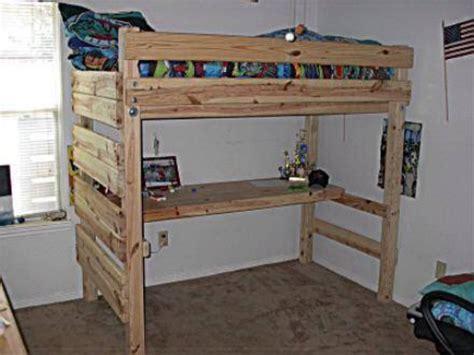 Diy-Pallet-Loft-Bed-Plans
