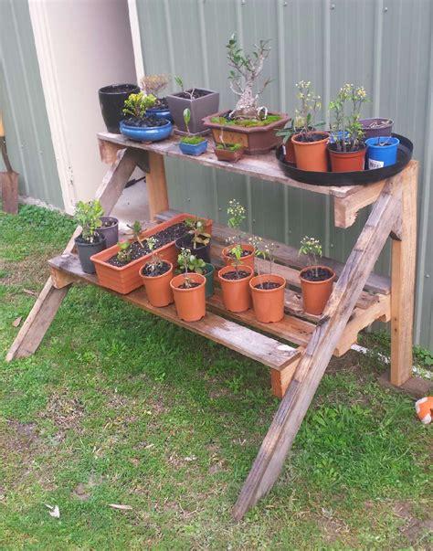Diy-Pallet-Plant-Table