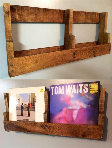 Diy-Pallet-Record-Shelf