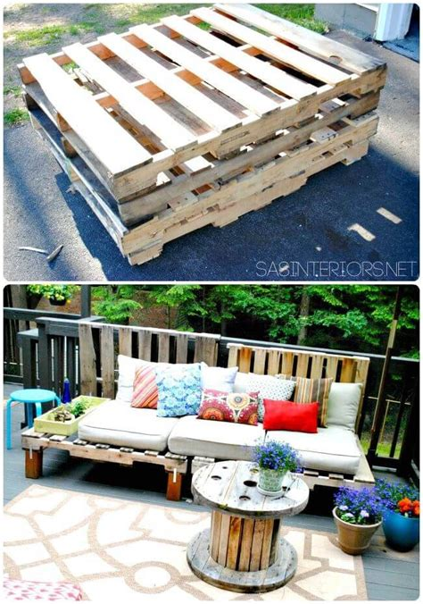 Diy-Pallet-Sofa-Table-Instructions