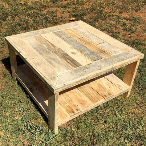Diy-Pallet-Square-Coffee-Table