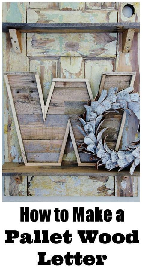 Diy-Pallet-Wood-Letters