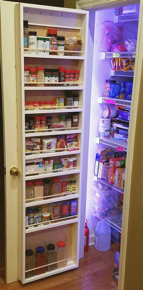 Diy-Pantry-Door-Storage