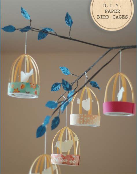 Diy-Paper-Bird-Cages