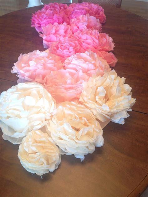 Diy-Paper-Flower-Table-Runner