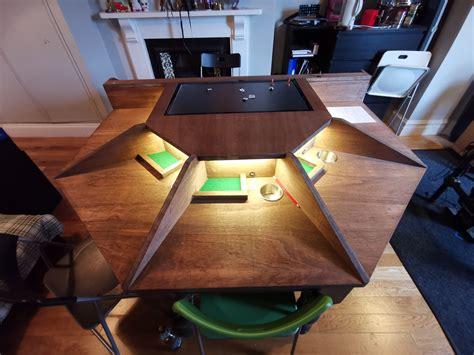 Diy-Paper-Game-Table