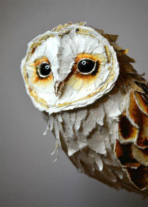 Diy-Paper-Mache-Owl