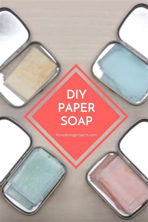 Diy-Paper-Soap-Sheets