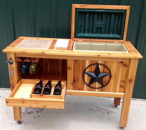 Diy-Patio-Deck-Cooler-Stand