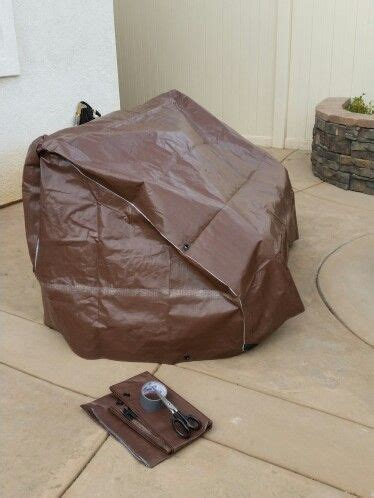 Diy-Patio-Furniture-Cover-With-Tarp