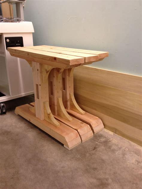 Diy-Pedestal-Trestle-Dining-Table