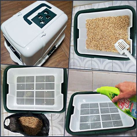 Diy-Pellet-Sifting-Litter-Box