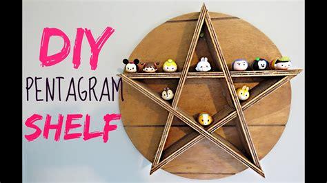 Diy-Pentagram-Shelf
