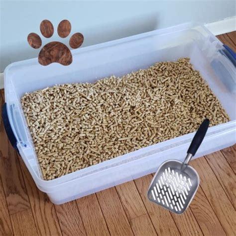 Diy-Pine-Litter-Box