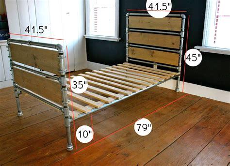 Diy-Pipe-Bed-Plans
