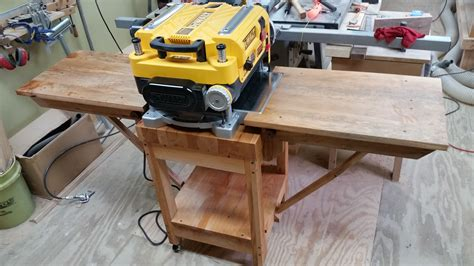 Diy-Planer-Outfeed-Table