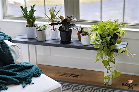 Diy-Plant-Stand-Bench