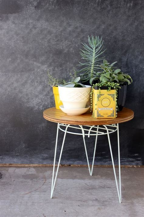 Diy-Plant-Stand-End-Table