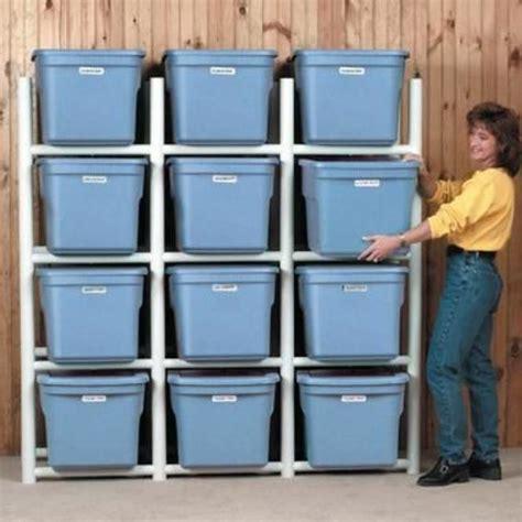 Diy-Plastic-Storage-Bin-Rack