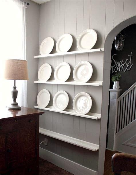 Diy-Plate-Shelf