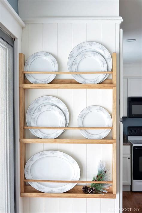 Diy-Platter-Rack