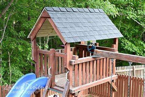 Diy-Playset-Roof