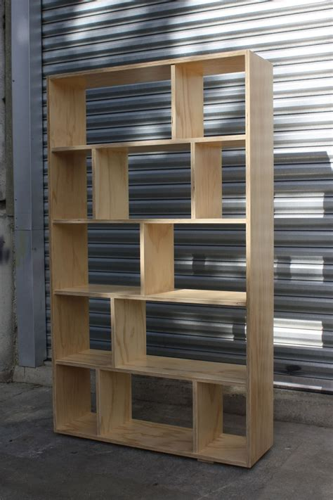 Diy-Plywood-Bookcase