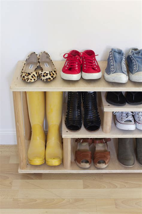 Diy-Plywood-Shoe-Rack