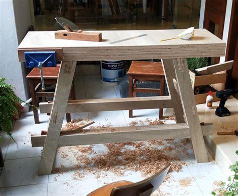 Diy-Plywood-Workbench