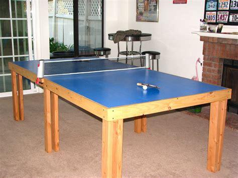 Diy-Pong-Pong-Table