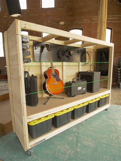 Diy-Portable-Garage-Shelves