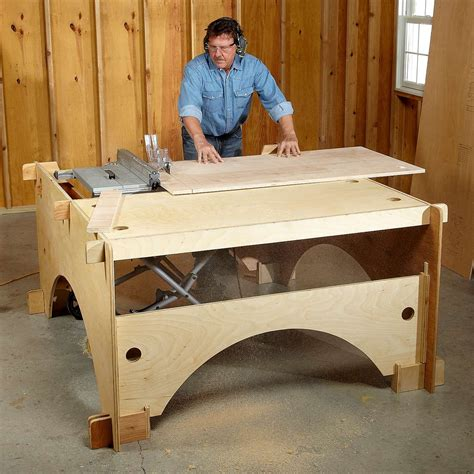 Diy-Portable-Outfeed-Table