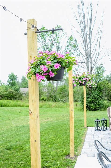 Diy-Posts-For-Patio-Lights