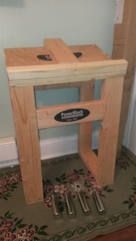 Diy-Powerblock-Wood-Dumbbell-Stand