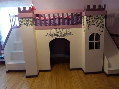 Diy-Princess-Castle-Loft-Bed