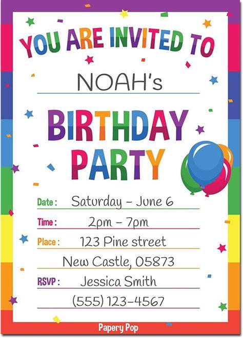 Diy-Printable-Birthday-Invitations