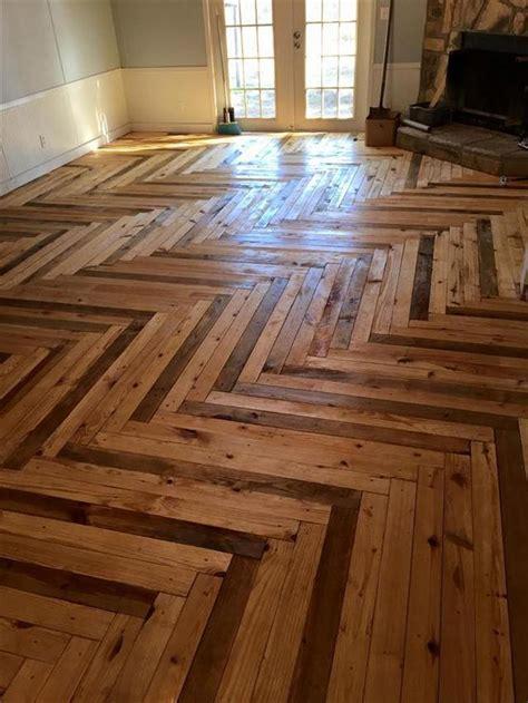 Diy-Project-Pallet-Wood-Floor
