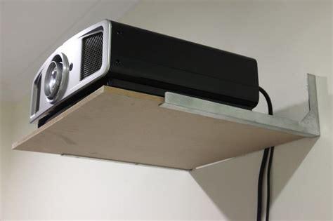 Diy-Projector-Ceiling-Shelf