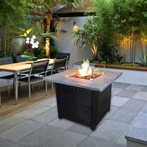 Diy-Propane-Screened-Patio-Fire-Pit-Table
