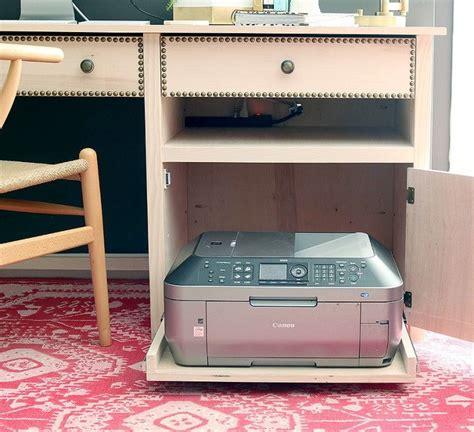 Diy-Pull-Out-Printer-Shelf