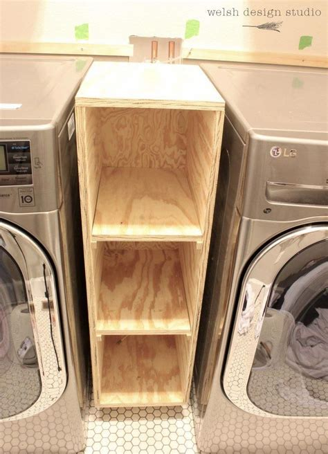 Diy-Pull-Out-Shelf-Between-Washer-And-Dryer