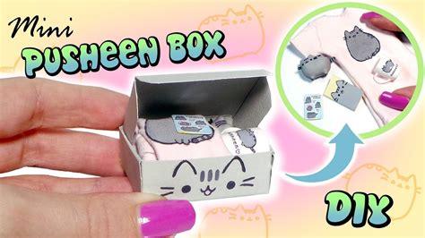 Diy-Pusheen-Box